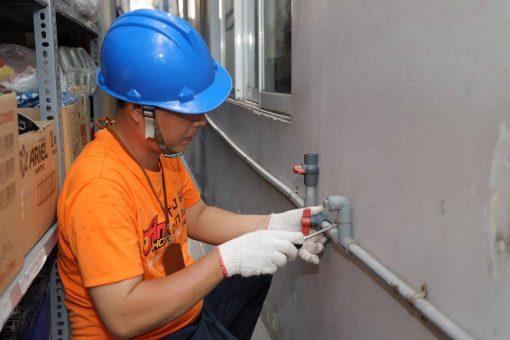 sửa đường ống nuớc âm