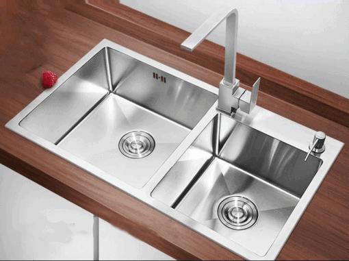 lắp đặt bồn rửa chén