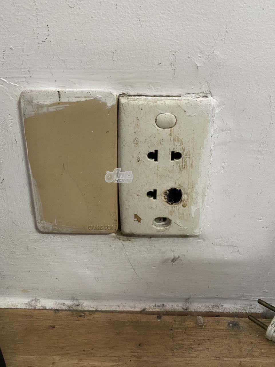 sự cố chập điện