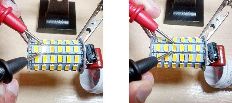 Kiểm tra đèn led