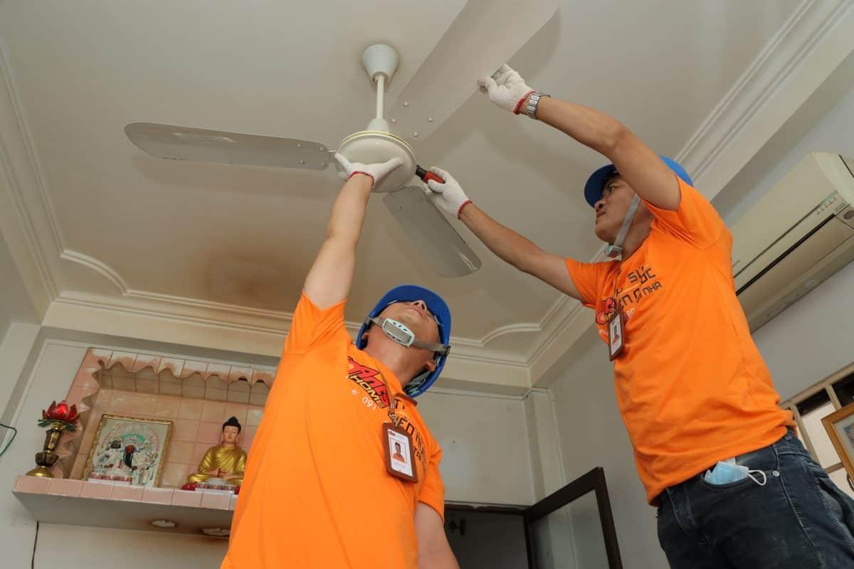 Dịch vụ sửa quạt trần tại nhà