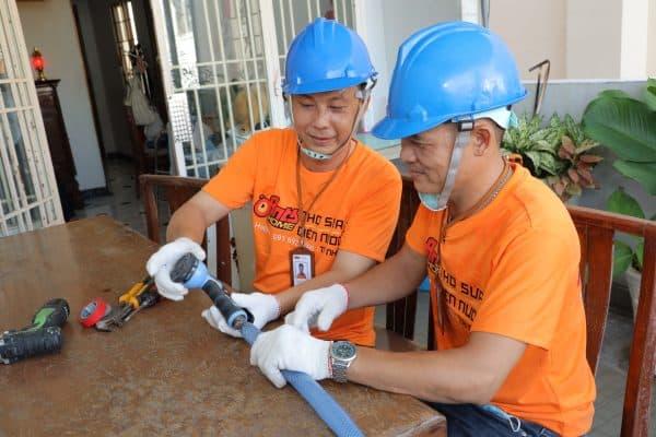 Khắc phục sự cố vỡ ống nước