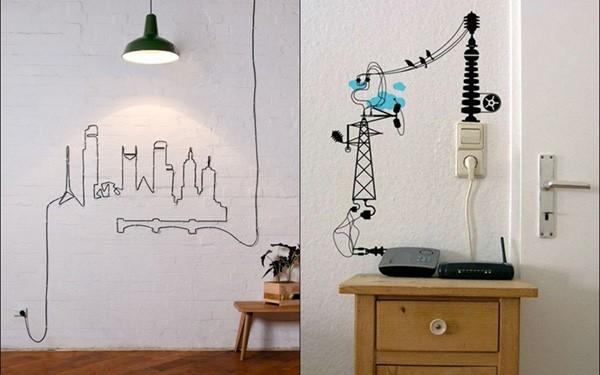 đi dây điện nổi