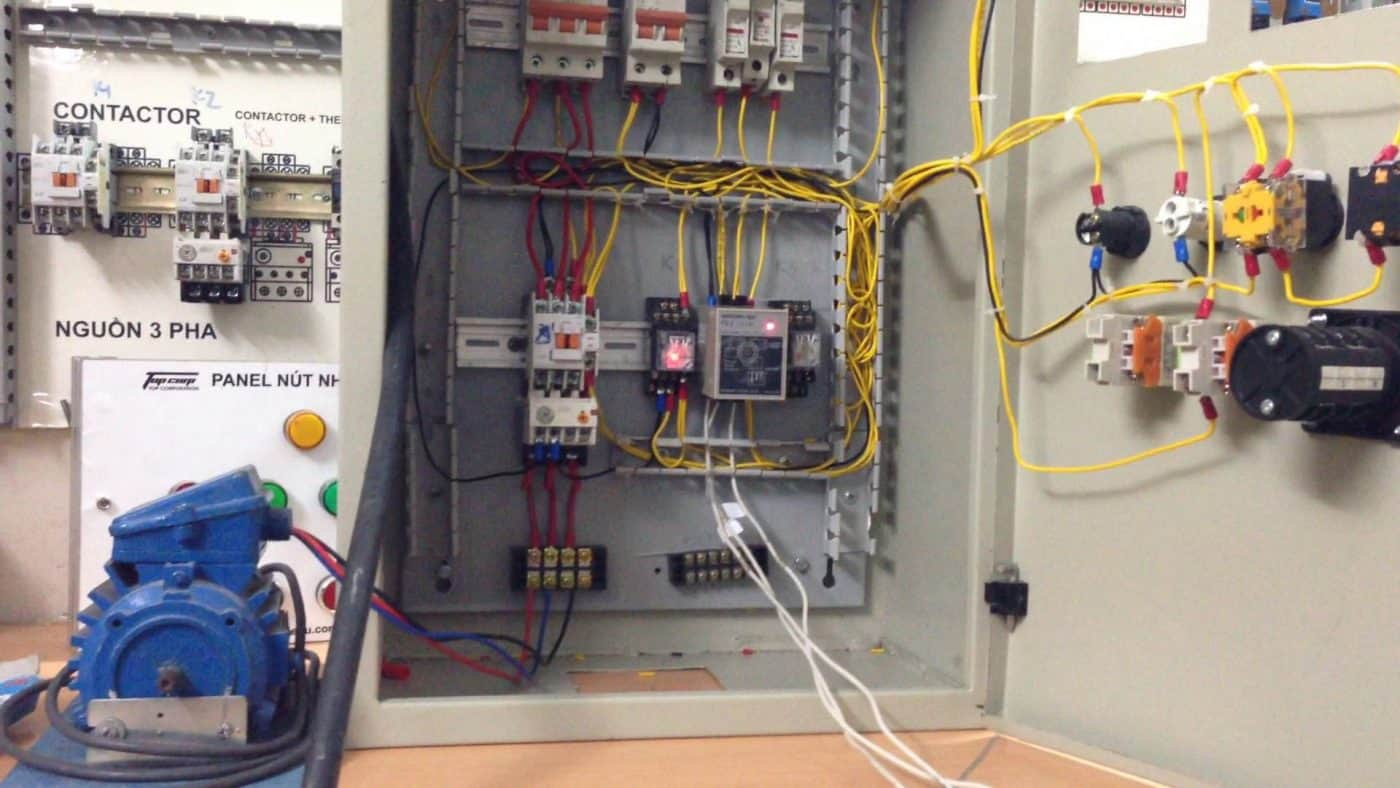lắp đặt - sửa chữa tủ điện công nghiệp 3 pha