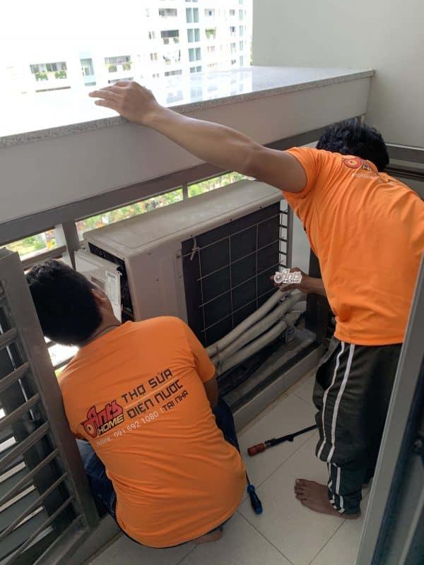Dịch vụ bơm gas máy lạnh tại nhà