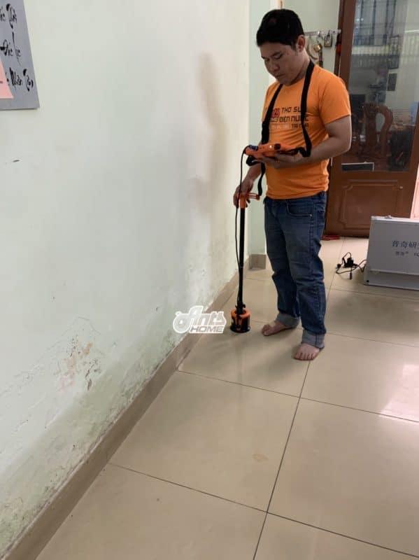 dò tìm rò rỉ nước âm sàn bằng công nghệ tiên tiến