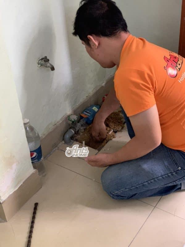 Ngắt nguồn nước