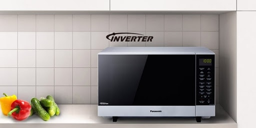 lò vi sóng trang bị công nghệ inverter