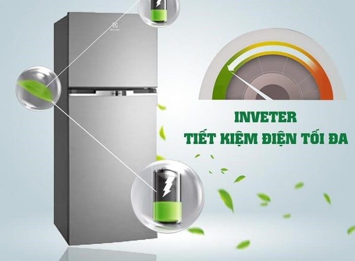 tủ lạnh trang bị công nghệ inverter