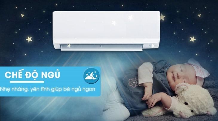 Chế độ ngủ hỗ trợ giấc ngủ của trẻ